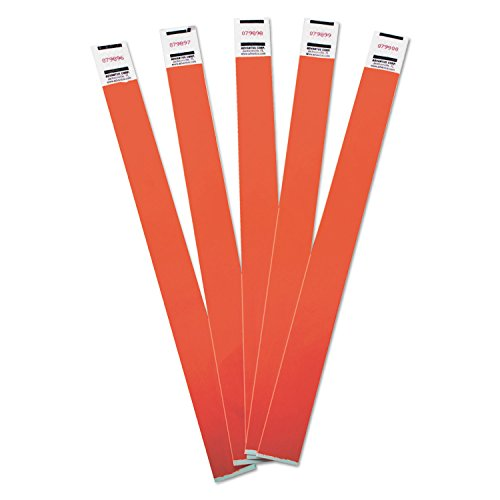 avt75510–Advantus–500Stück Tyvek farbigen Handgelenk Bands