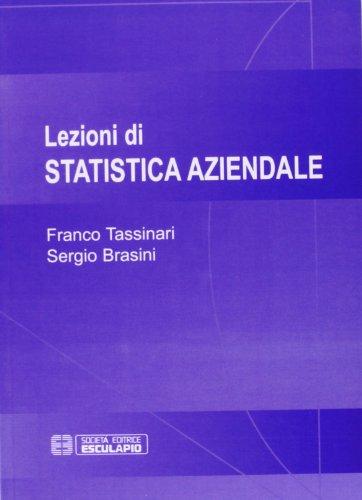 Lezioni di statistica aziendale