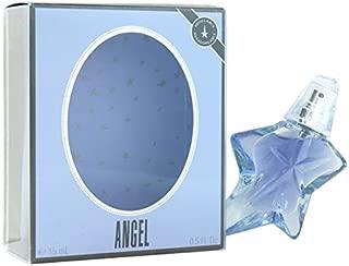 Thierry Mugler Angel Eau De Parfum Refillable Spray for Women, 0.5 Ounce