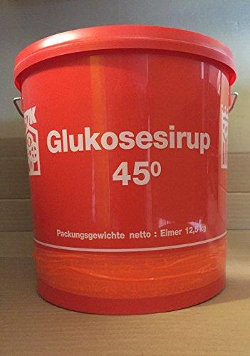 2 x 12,5 kg Eimer Glucosesirup 45° - Sirup Glukosesirup Glukose Glucose Bonbon Likör andicken Bonbonsirup 25 kg