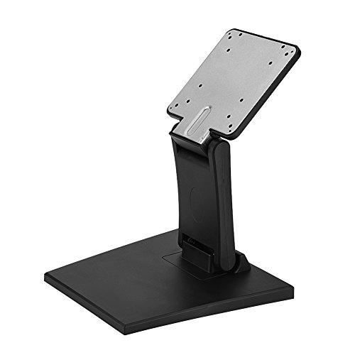 Tangxi Supporto per Staffa TV da Tavolo, Schermo Monitor LCD a LED Piatto da 10-24 Pollici, 75x75mm, 100x100mm VESA Supporto per Supporto da scrivania Supporto per Supporto da Tavolo