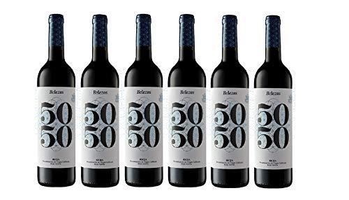BELEZOS Belezos 50/50, pack de 6 botellas - 4500 ml
