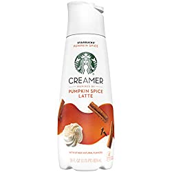 STARBUCKS Pumpkin Spice Latte Creamer 28 fl. oz. Bottle