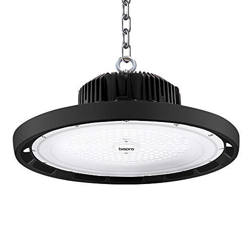 200W UFO Proiettore Faretto LED, 20000LM Lampada da officina,fari led da esterno,lampada da magazzino 6500K bianco freddo,luce diurna alta luce industriale plafoniera LED commerciale