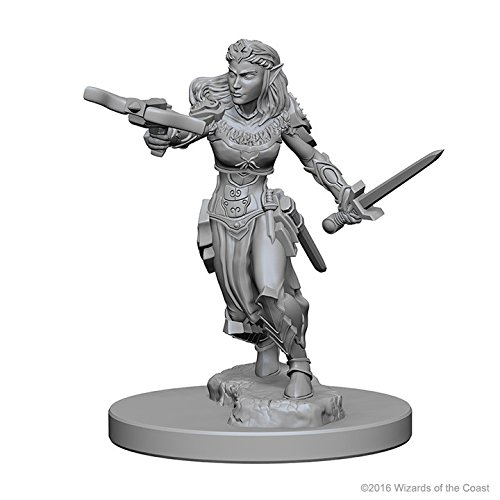 D&D Nolzurs Marvelous Unpainted Miniatures: Wave 1: Elf Female Ranger