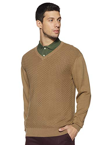 Arrow Sports Men's Quilted Cotton Sweater