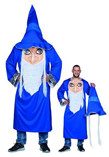 Disfraz de mago loco para hombre para Halloween