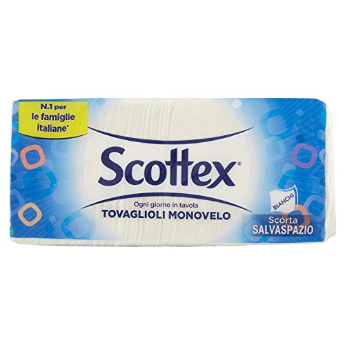 Scottex, Tovaglioli Monovelo, Formato Famiglia -...