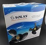Solas Amita 3 E Plus Propeller 15.3x19 for Suzuki Johnson Outboard 4511-153-19