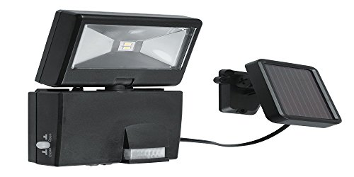 homegarden led-cosmo/s-fv-Proyector LED orientable con sensor y panel solar