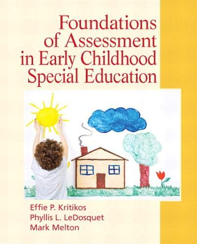 Foundations of Assessment in Early Childhood Special...