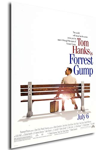 Instabuy Poster Film Forrest Gump Locandina A3 42x30