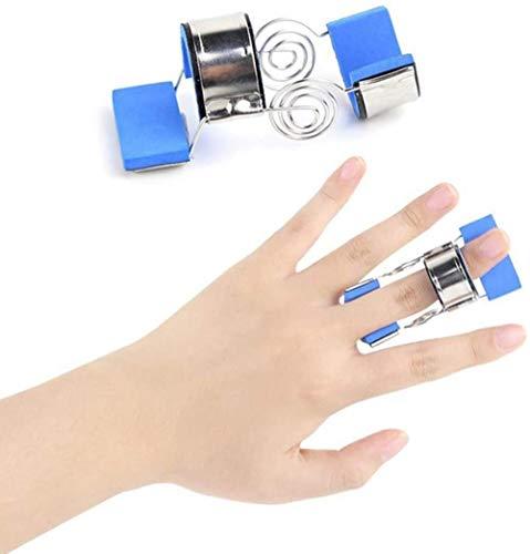 DLLY Finger Jiont Sneaker Schiene Spasm Orthese-Fraktion mit integrierter Aluminium Stütze für Finger Sehnen Release und Schmerzlinderung