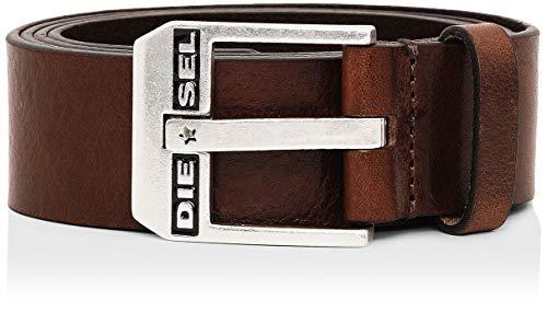 Diesel Herren Gürtel BLUESTAR, Braun (Chestnut/Argento America H5900-Pr227), 85 (Herstellergröße: 100)