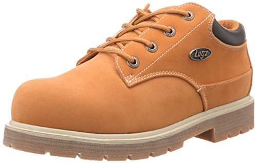 Lugz Men's Drifter LO LX Boot, Golden Wheat/Bark/Cream/Gum, 9.5 D US