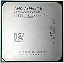 AMD Athlon II X4 645 3.1 GHz Quad-Core CPU Processor ADX645WFK42GM Socket AM2+ AM3 CPU 938-pin