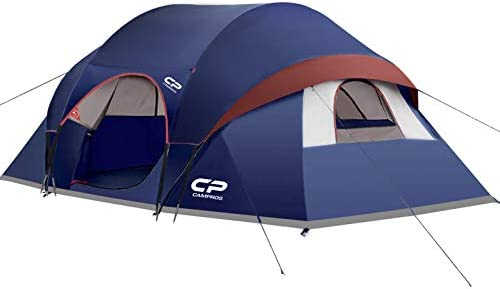 CAMPROS Tent 9 Person Camping Tents Waterproof Windproof Family Tent with Top Rainfly 3 Large product image