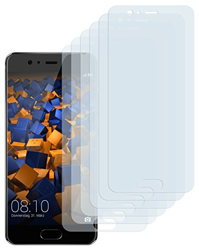 Schutzfolie kompatibel mit Huawei P10 Folie klar, Displayschutzfolie (6X)