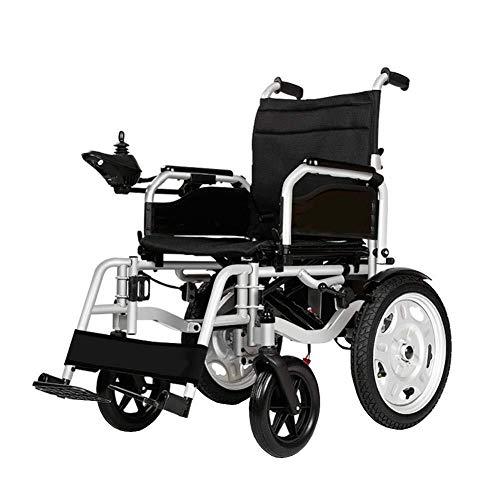 Lichte elektrische rolstoel elektrische scooter, elektrische scooter met 4 wielen voor zelfrijden, draagkracht 100 kg, geschikt voor mensen met beperkte mobiliteit en senioren Lowbackrest