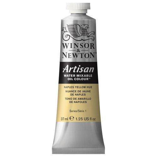 Winsor & Newton Artisan Water Mixable Oil Colour, 37ml Tube, Naples Yellow Hue