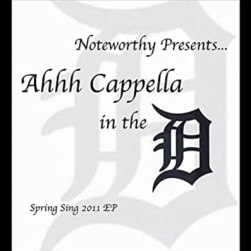 Ahhh Cappella in the D - EP