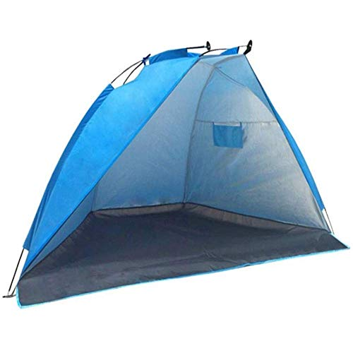 Nuokix Camping Tent, Convenient Outdoor Shading Fishing Camping Tent, Ultra Light Waterproof Backpack Tent 240 * 120 * 120cm