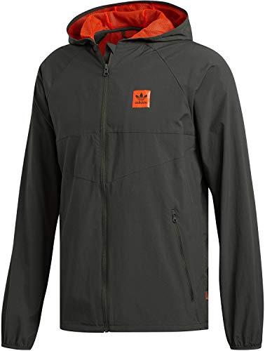 adidas Herren Originals Dekum Packable Jacket F Jacke, Grün (Khaki FH8188), (Herstellergröße:L)