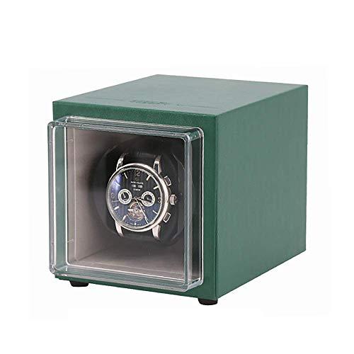 AMAFS Caja de Reloj para 1 Reloj automático, Motor antimagnético Ultra silencioso, Almohada de Reloj Suave y elástica, tamaño 11,6 cm * 13,1 cm * 12,1 cm Happy House