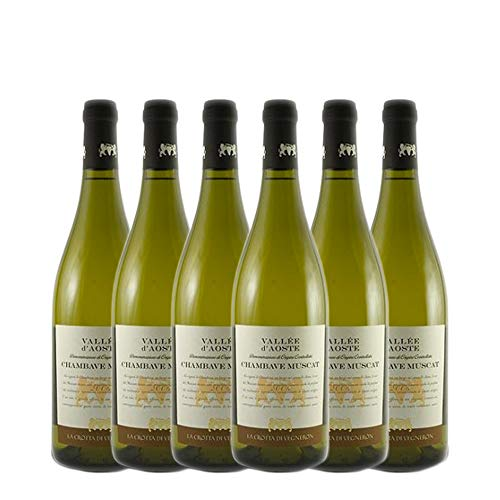 LA CROTTA DI VEGNERON Chambave Muscat 100% Moscato Bianco 2020 13% (6 X 0,75 l)