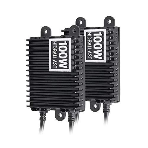 TANOU 2 StüCk DC12V Slim 100W Digital Xenon Vorschaltger?T, für Auto SUV Auto HID Ersatz Ballast Spannungsregler
