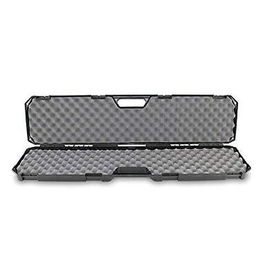 "Condition 1 42"" Single Scope Hard Plastic Rifle Case with Foam, Black"