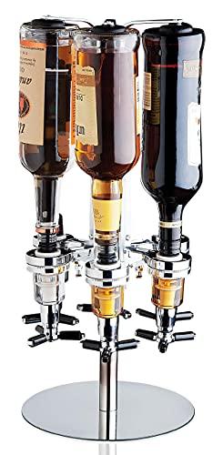 Revolving Liquor Dispenser Bottle Holder