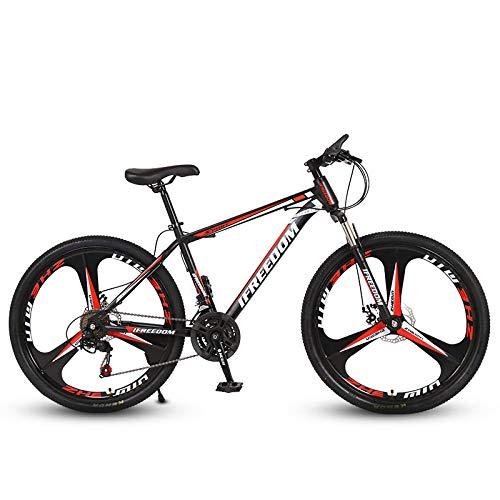 N/AO Mountain Trail Bike Frenos De Doble Disco Bicicleta De Cambio De 26 Pulgadas Bicicleta De Carretera De 21...