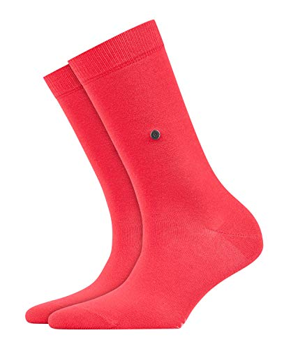 Burlington Damen Lady W SO Socken, 1er Pack, coral red, 36-41