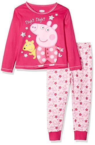 Peppa Wutz Mädchen Peppa Pig Schlafanzug 110