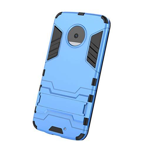 Capa rígida para Moto X4 com suporte, capa rígida para celular com suporte de alto impacto, resistente à prova de choque, capa traseira protetora robusta para Moto X4