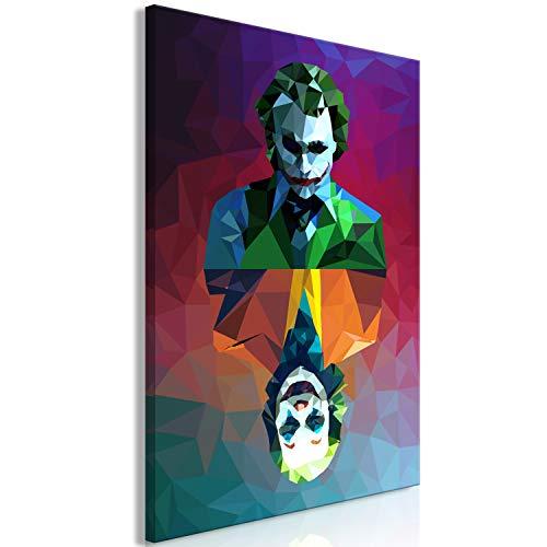 murando - Bilder Abstrakt 80x120 cm Vlies Leinwandbild 1 TLG Kunstdruck modern Wandbilder XXL Wanddekoration Design Wand Bild - Street Art Graffiti bunt h-A-0152-b-a