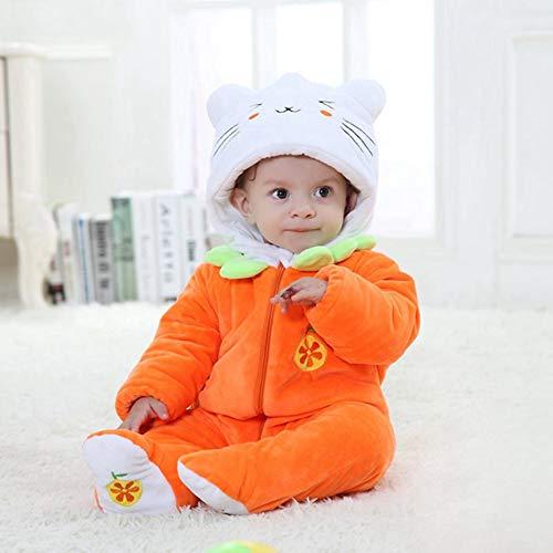 Traje De Franela Encapuchado Para Bebé Recién Nacido Ropa Mameluco Pelele Con Capucha Niños Niñas Pijama Disfraz Infantil Dibujo Animado Animal Cómodo Unisexo Otoño Invierno Primavera,Pat1,80CM