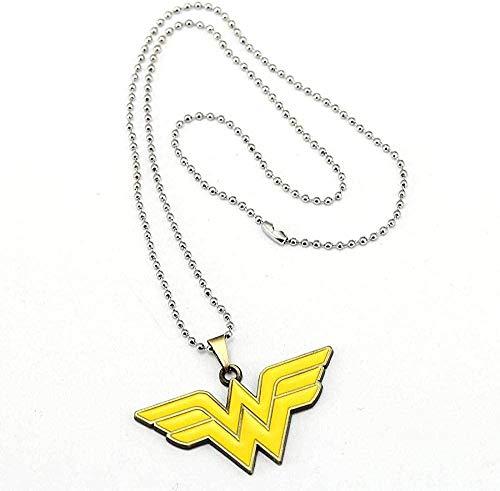 LBBYMX Co.,ltd Collar de Maravilla de la Moda Collar de superhéroe Collares Pendientes Joyería de Moda Regalo de la Amistad