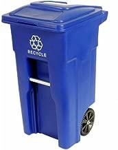 Toter 32 Gallon 2-Wheel Recycling Cart blue