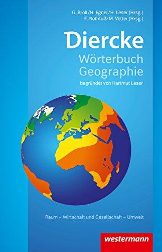 Diercke Wörterbuch Geographie - Ausgabe 2017 Kindle Version