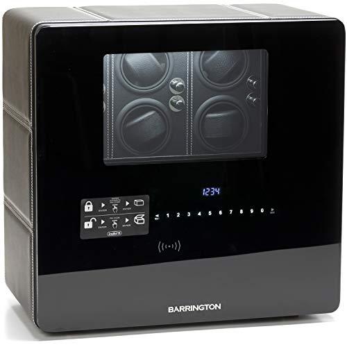 Barrington Automatic Watch Winder Box for 12 Watches - Premium Watch Winder...