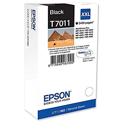 Epson WP4000 / 4500 Series Ink Cartridge XXL Black 3.4k