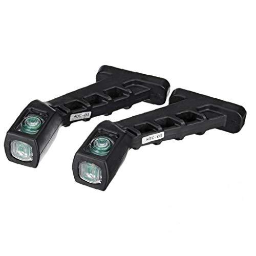 2pcs Truck Side Marker Light Car Feux Extérieurs Arrière À Lampes Indicateur Marker 12 / 24v Pour Remorque RV Bateau Poids Lourd