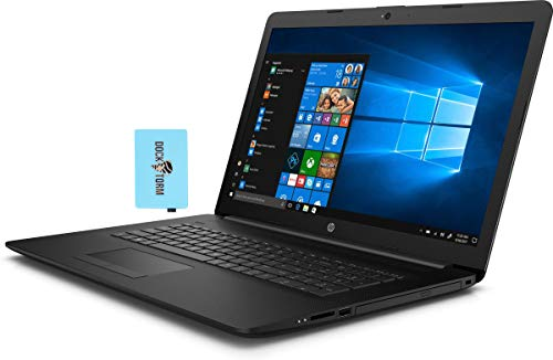 "HP 17-BY3613DX Home and Business Laptop (Intel i5-1035G1 4-Core, 16GB RAM, 256GB PCIe SSD, Intel UHD Graphics, 17.3"" HD+ (1600x900), Wifi, Bluetooth, Webcam, 2xUSB 3.0, Win 10 Home in S-Mode) with Hub"
