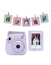 instax mini 11 Camera Accessory Kit, Lilac Purple