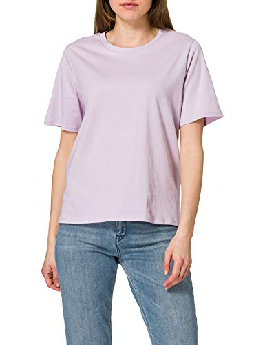 Only ONLONLY Life S/S Top JRS Camiseta, Lavender Frost, L para Mujer