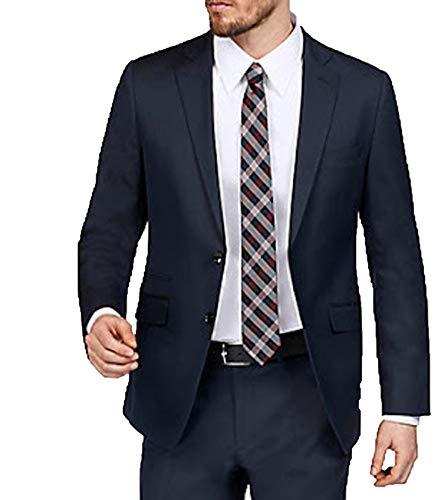 Class International Anzug-Jacke Jackett Zeitloses Herren Sakko in verschiedenen Größen Business-Jackett Business-Sakko Marine, Größe:30