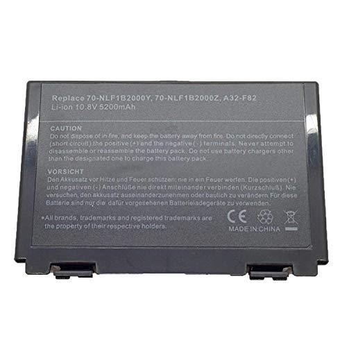 onlyguo 10.8V 5200mAh A32-F82 Batteria di Ricambio per ASUS A32-F82 A32-F52 X 5C K40 K40IJ K40IN K50 K50AB K50IJ K50IN K61IC AS-K50 L0690L6 L0A2016 X 70 X5DIJ X5A X5DC
