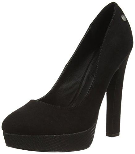 Blink BfallL, Chaussures à Talons-Avant du Pieds Couvert Femme, Noir 01, 39 EU